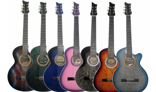 guitarras acusticas aire artesanal forro colgador pua clases