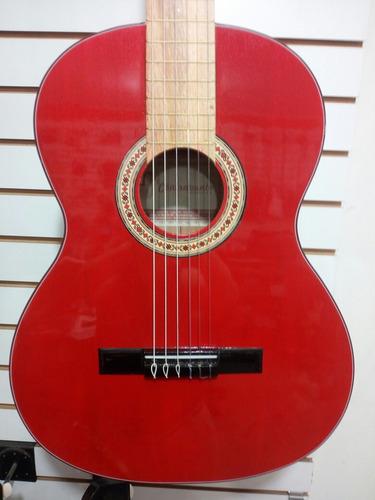 guitarras acústicas con forro y accesorios excelente calidad