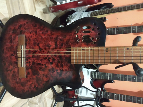 guitarras delgadas electro acusticas tipo godin buenazas