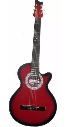 guitarras electroacústica forro con bolsillo pua cable