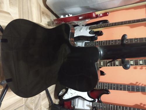 guitarras electroacústicas...modelo tipo godin en nylon .