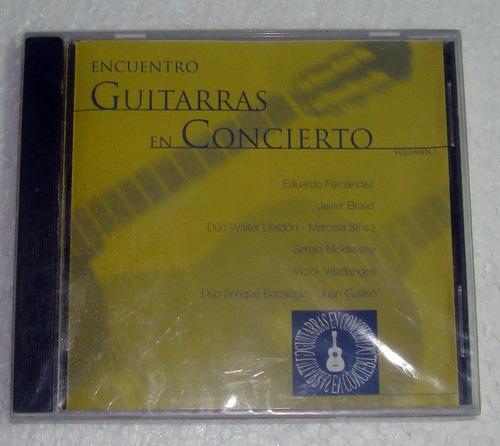 guitarras en concierto fernandez bravo sfriso cd sellado