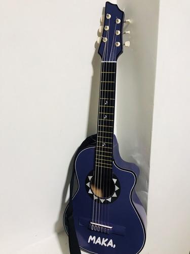 guitarras niños de 4 a 9 años correa+forro+met+personalizada