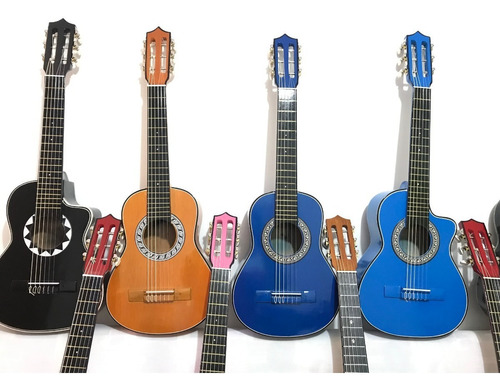 guitarras niños hasta 7 años+forro+metodo+limpiador