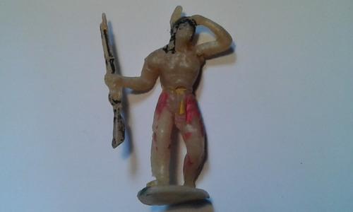 gulliver apache com rifle escudo antigo escala casablanca.