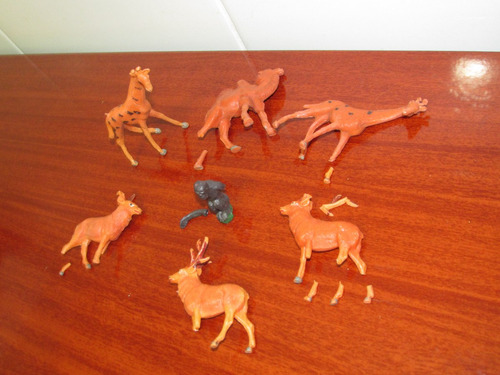 gulliver apache lote zoologico animais para restauro antigos