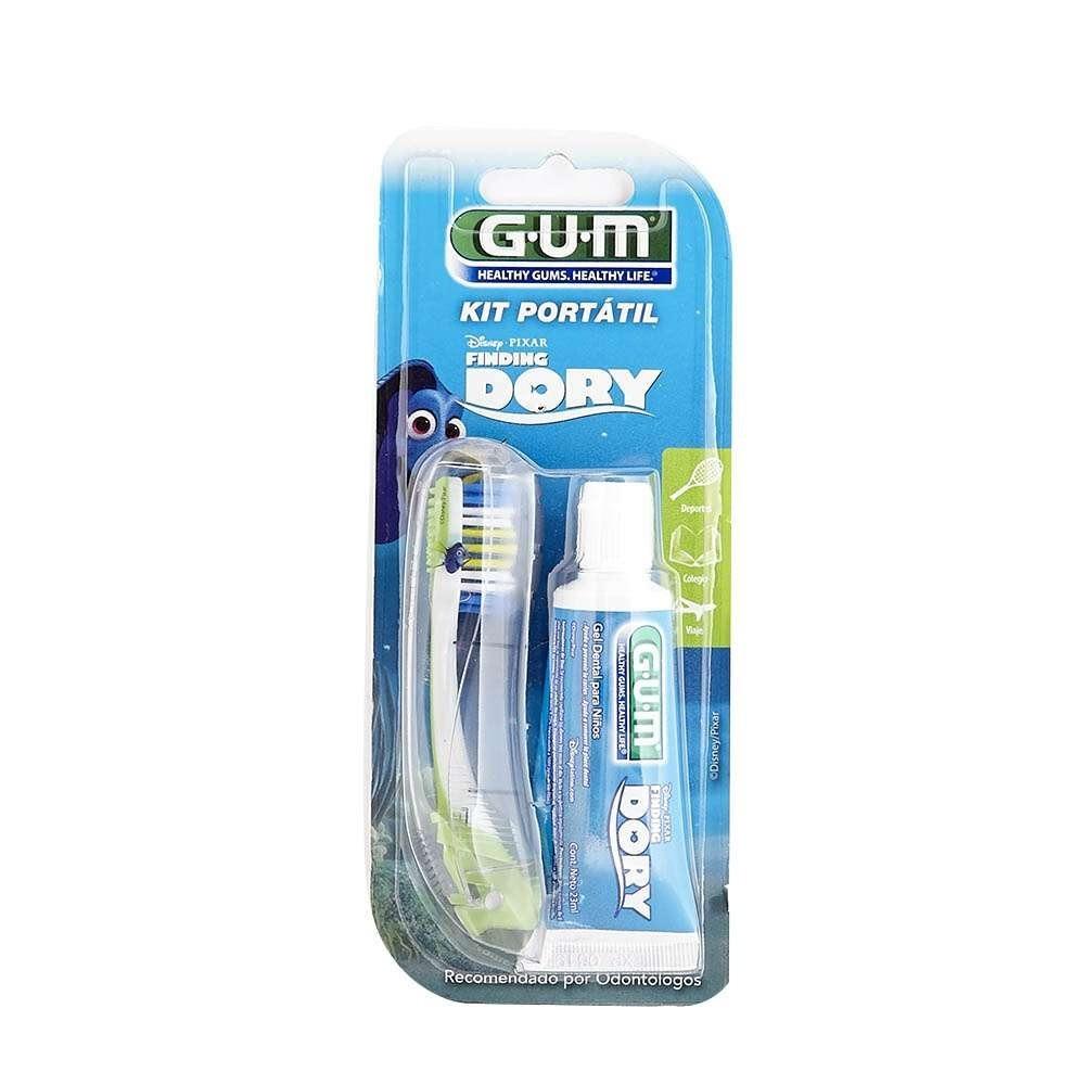 gum kit de viaje cepillo 121 + pasta dental soy luna   dory. Cargando zoom. 569c4e6e041a
