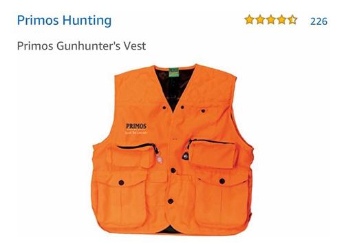 gun hunter® chaleco cacería coconos pavo guajolote talla g