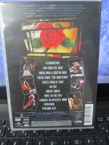 gun n' roses, dvd use your illusion ii, geffen-1992 novo