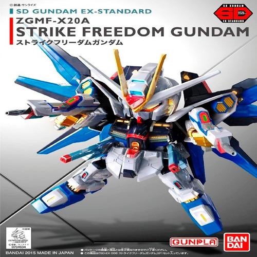 gundam ex standard strike freedom gundam sd maqueta nueva ba