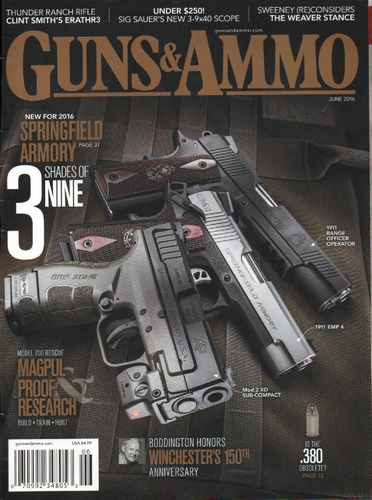 gun's ammo magazine - revista de resenha de armas defesa