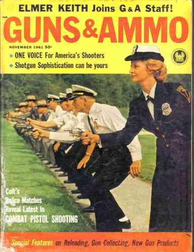 guns & ammo - november 1961