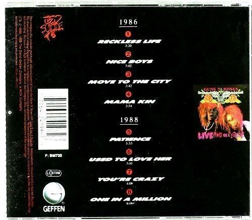 guns and roses - g n' r lies (1988)