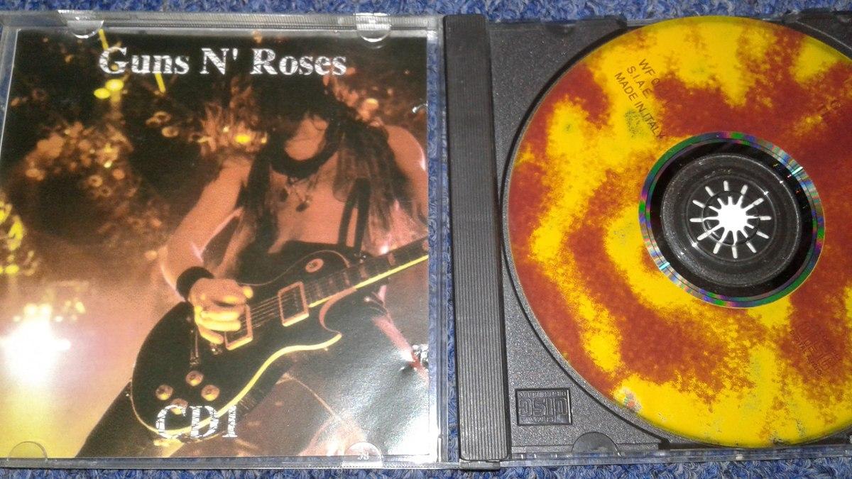 Guns N Roses 1cd Thompson 1992 Bootleg Live In Concert - $ 444 13