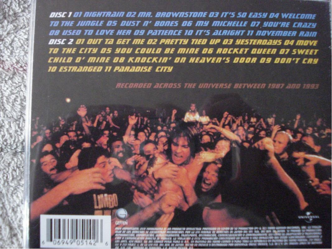 guns n roses 2cds musica album live era 8793 295