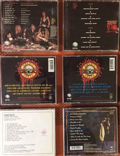 guns n' roses - 5 cds + izzy stradlin