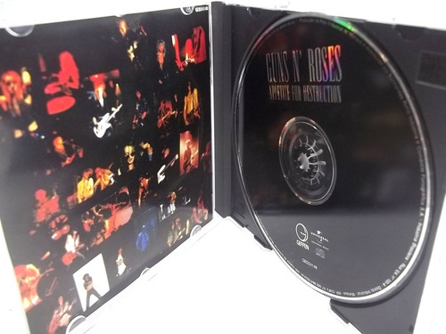 guns n roses appetitte for destruction cd original ótimo est