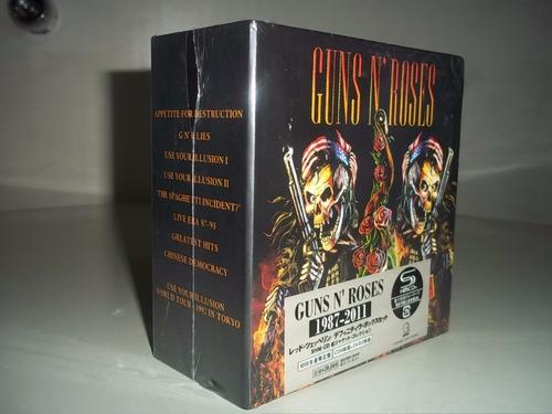 guns n roses box -japan edition 1987-2011 box 9cd + 2dvd