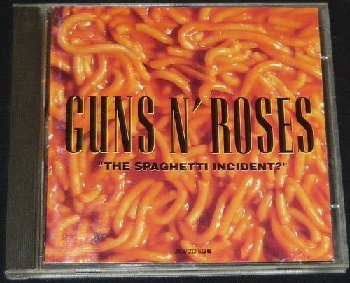 guns n roses cd the spaghetti incident? importado con sticke