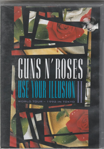 guns n' roses - dvd use your illusion ii - lacrado