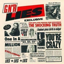 guns n roses gnr lies cd nuevo