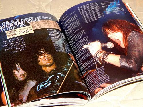 guns n' roses - reckless road livro importado axl rose slash