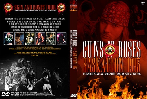 DVD / Mkv BlueRay  Live @ Saskatchewan Place, Saskatoon, Canada, 26-03-1993 Guns-n-roses-saskatoon-canada-1993-dvd-coleccionable-D_NQ_NP_850578-MLM29993080400_042019-F