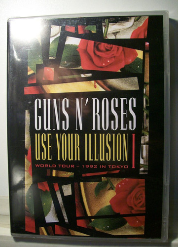 guns n' roses, use your illusion 1, dvd lacrado original