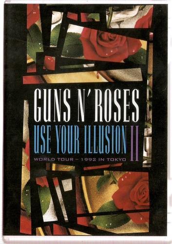 guns n roses use your illusion 2[dvd  original lacrado]