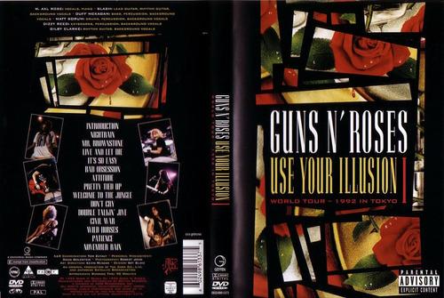 guns n´ roses - use your illusion dvd novo lacrado