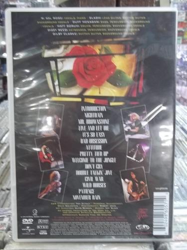 guns n roses use your illusion dvd original estado impecável
