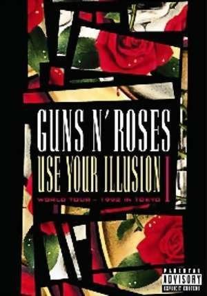 guns n' roses - use your illusion i dvd. (lacrado)