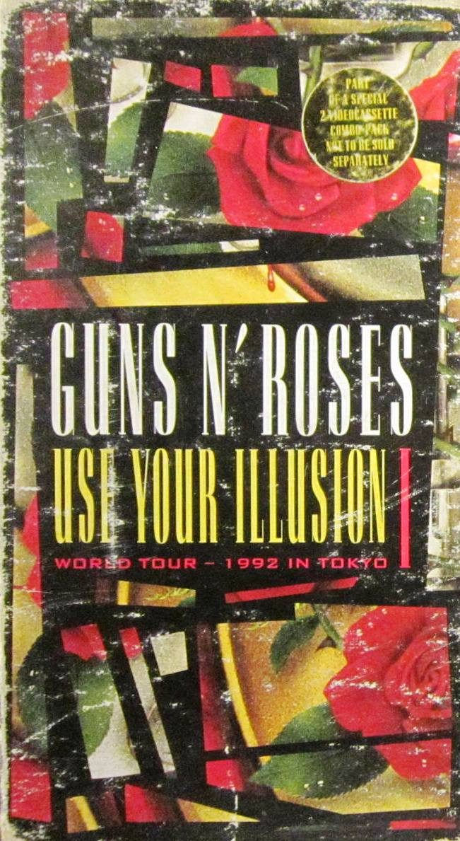 Guns N' Roses - Use Your Illusion II - World Tour - 1992 In Tokyo