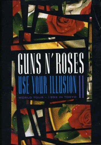 guns n' roses - use your illusion ii dvd - importado.