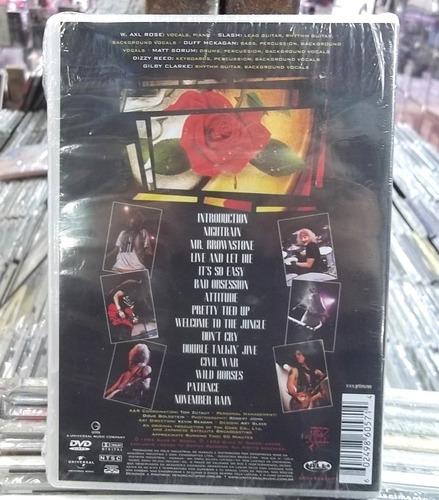guns n roses use your ilusion i dvd lacrado frete 15,00