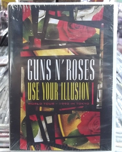 guns n roses use your ilusion i dvd original lacrado