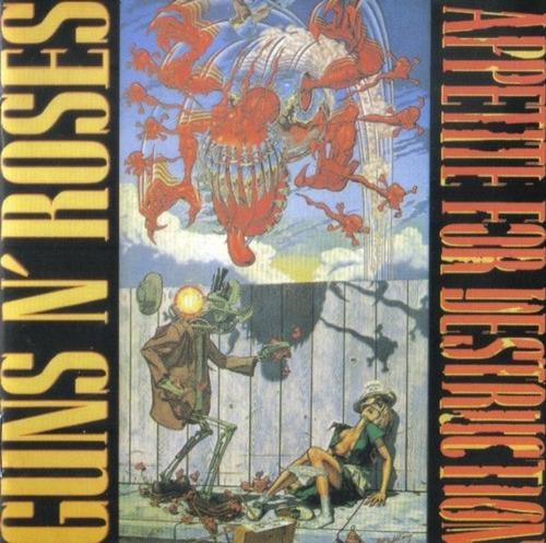 guns'n'roses appetite for destruction - cd rock