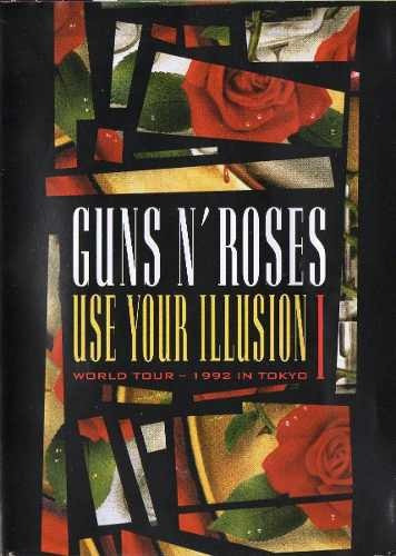 guns's roses use your illusion 1 1992 tokyo dvd original lac