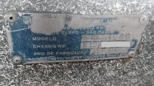 gurgel x12 tr raro