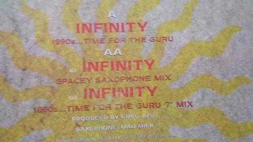 guru josh infinity 1990's electronica house dance