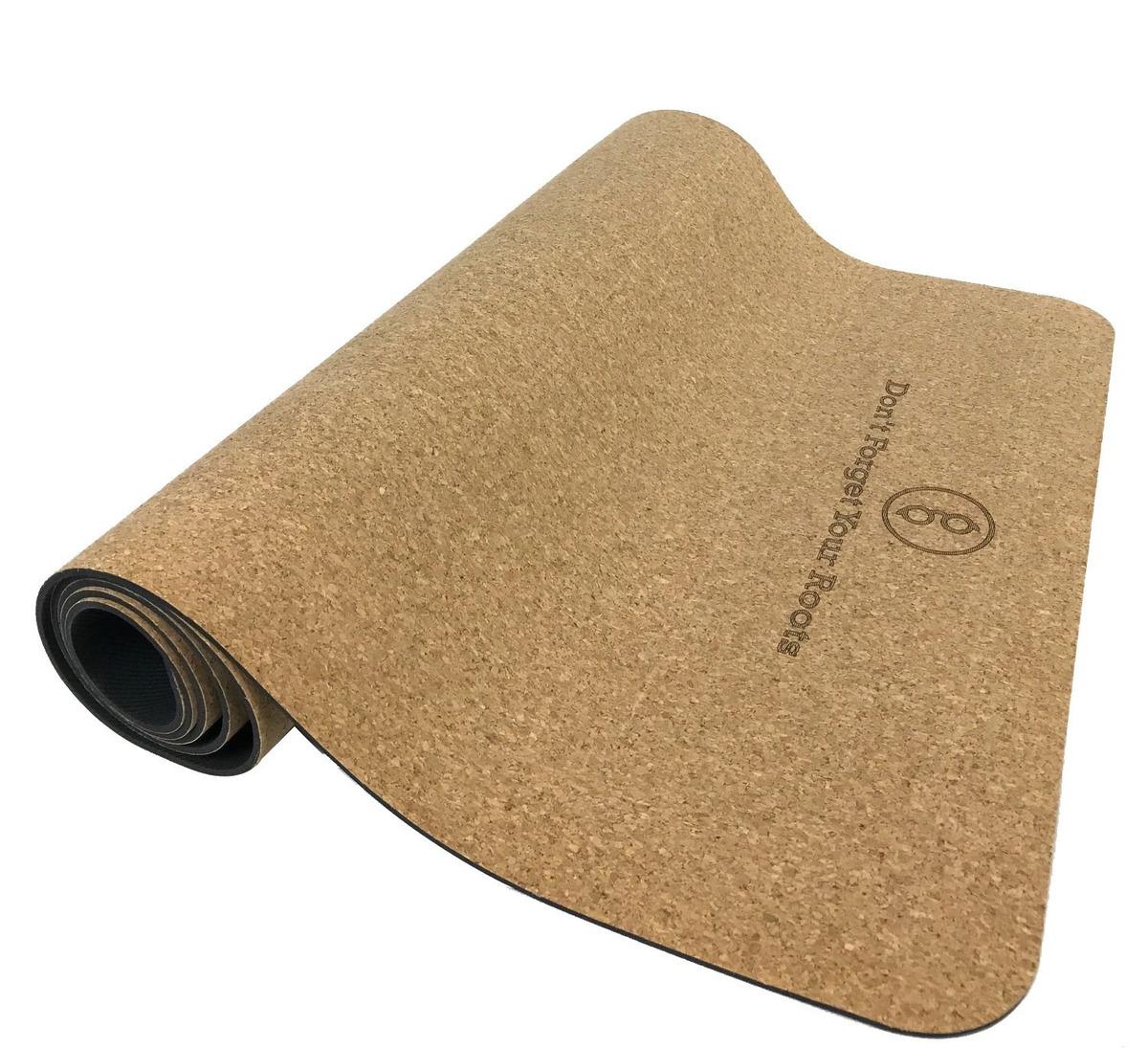Gurus Premium Corcho Natural Antideslizante Estera De Yoga ... 448b4b2f8440