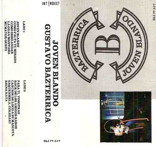 gustavo bazterrica - joven blando-1987-cassette-abuelos nada