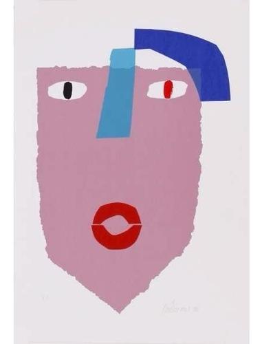 gustavo rosa - serigrafia - máscara - 3s arte