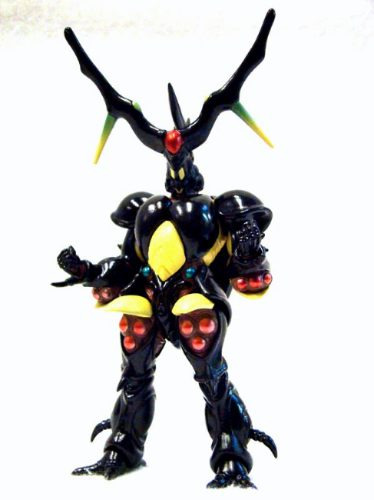 guyver zx- tole guyver the bioboosted armor trading figure