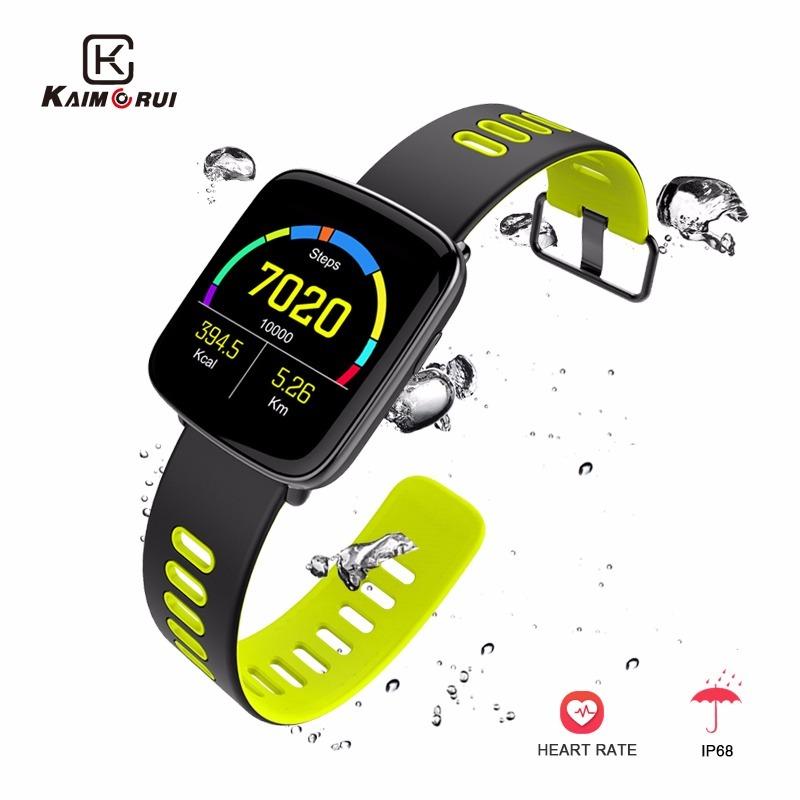 caa3340b582 gv68 relógio inteligente monitor de freqüência cardíaca do b. Carregando  zoom.