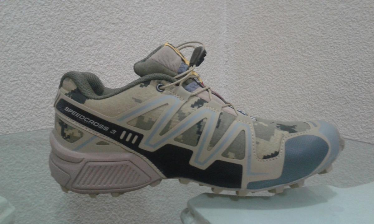 c9489dd5e4fc1 Gvashoes Tenis Salomon Sp_cross 3 Num 28 Cm, Camo Desierto ...