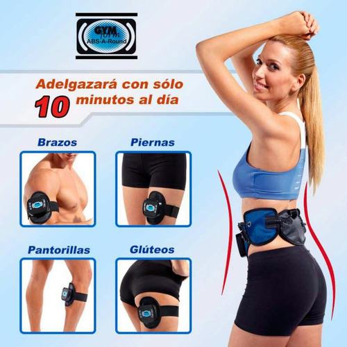gym form abs a round - cinturón abdominal