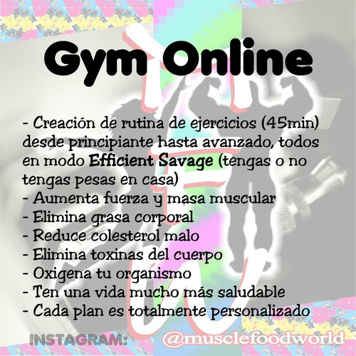 gym nutricion online muscle food world