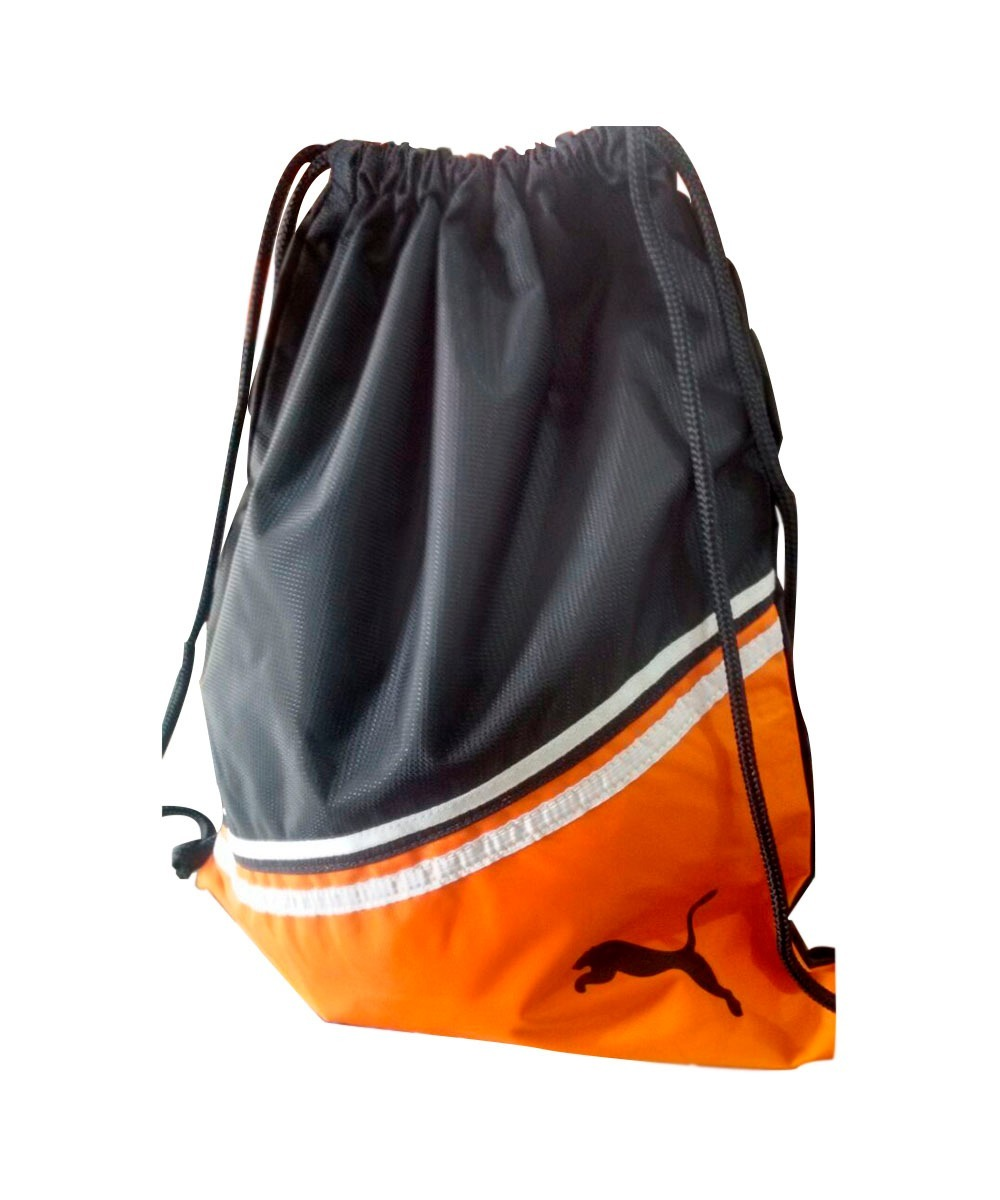 4d97bc8c7e0f2 gym sacy - sacola puma - produto original preto laranja. Carregando zoom.