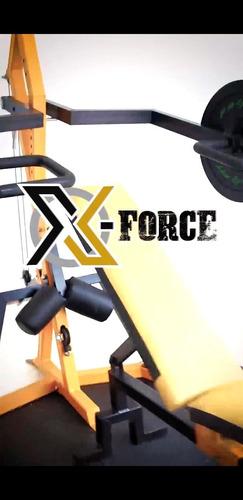 gymnacio multifuncional todo en uno x- force  tráfico pesado